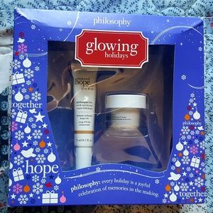 Philosophy Glowing Holidays Gift Set BNWT